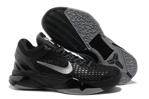 Nike Zoom Kobe VII System ELITE Basketball Kobe bryant Chaussure All Noir-wv